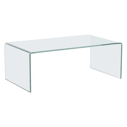 An Image of Bridge Glass Coffee Table, Choice of Colour