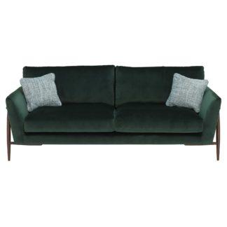An Image of Ercol Forli Large Sofa, Velvet