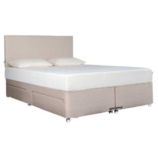 An Image of Tempur Ardennes Divan Base, Biscuit