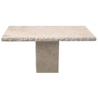 An Image of Agnesa Stone Console Table