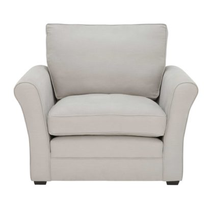 An Image of Berkeley Fabric Fixed Cover Armchair