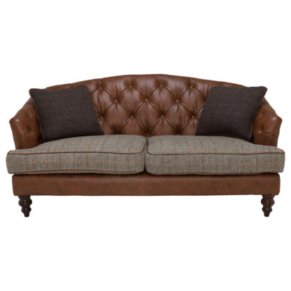 An Image of Harris Tweed Dalmore Petit Sofa, Stock