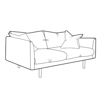 An Image of Levico Small Sofa