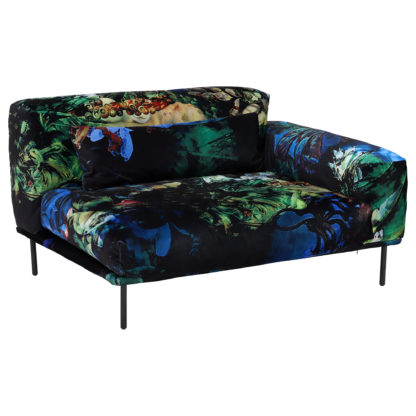 An Image of Timothy Oulton Sectional Studio Right Handed End Corner, Acid Jungle