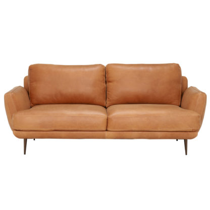 An Image of Pax Leather Sofa