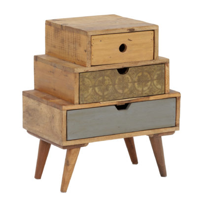 An Image of Little Tree Furniture Shimla 3 Drawer Multi Chest