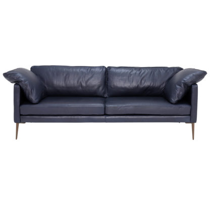 An Image of New Sorrento Leather Sofa