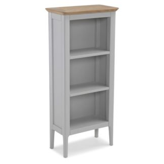 An Image of Hematic Wooden DVD Storage Stand In Solid Oak And Grey