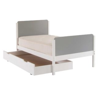 An Image of Clancy Childrens Single Bed With Trundle