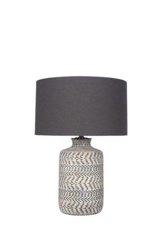 An Image of Nalpur Table Lamp - Natural Stoneware