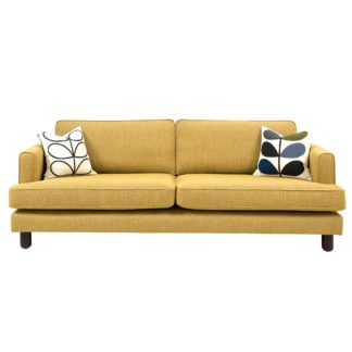 An Image of Orla Kiely Willow Large Sofa
