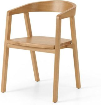 An Image of Robson Carver Dining Chair, Oak