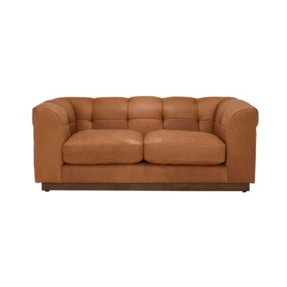 An Image of Whitman 2 Seater Leather Sofa
