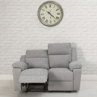 An Image of Jackson Fabric 2 Seater Recliner Sofa In Beige