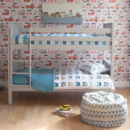 An Image of Buddy Childrens Beech Bunk Bed