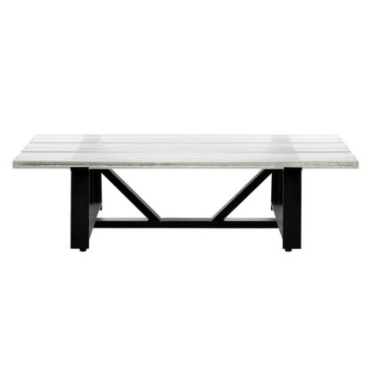 An Image of Timothy Oulton Iceberg Glass Coffee Table