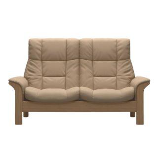 An Image of Stressless Buckingham High Back 2 Seater, Quikcship