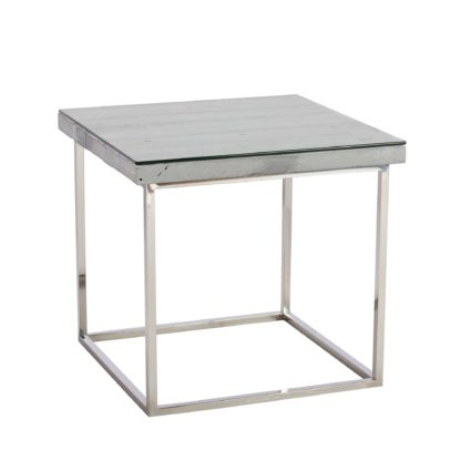 An Image of Caspian Chill Reclaimed Wood Side Table