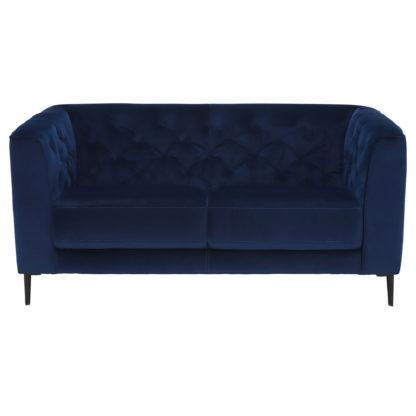 An Image of Corrine 2 Seater Sofa, TX1229 Blue