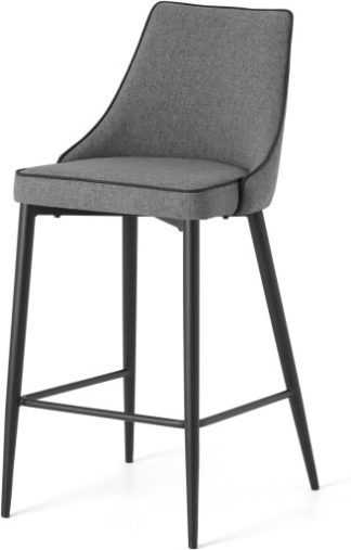 An Image of Julietta Barstool, Marl Grey