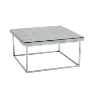 An Image of Caspian Chill Reclaimed Wood Coffee Table