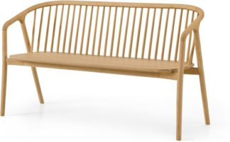 An Image of Tacoma Dining Bench, Oak