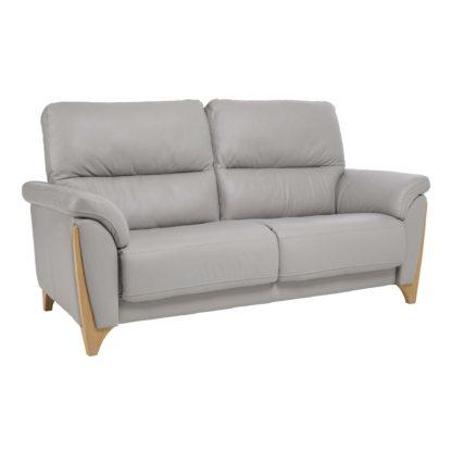 An Image of Ercol Enna Medium Leather Sofa