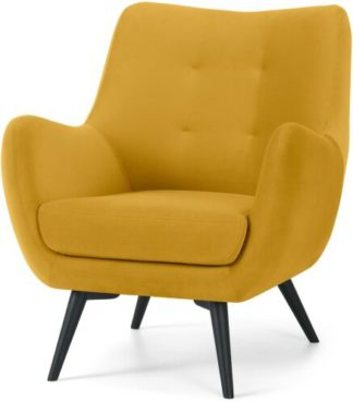 An Image of Hilda Accent Armchair, Canary Yellow