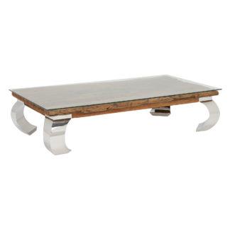 An Image of Caspian Terni Reclaimed Wood Coffee Table