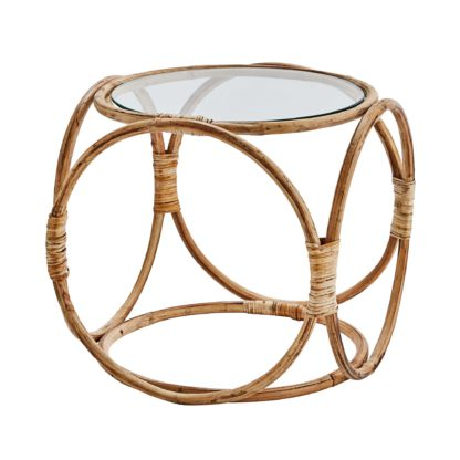 An Image of Bamboo Side Table, Natural