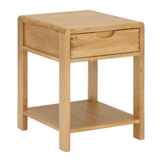 An Image of Ercol Bosco Lamp Table, Oak