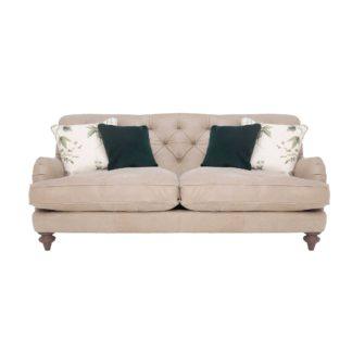 An Image of Windermere Leather Medium Sofa