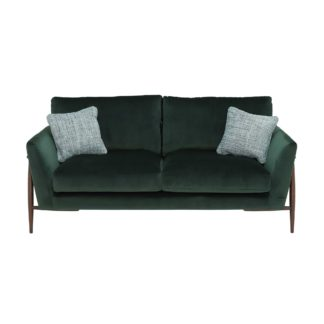 An Image of Ercol Forli Medium Sofa, Velvet