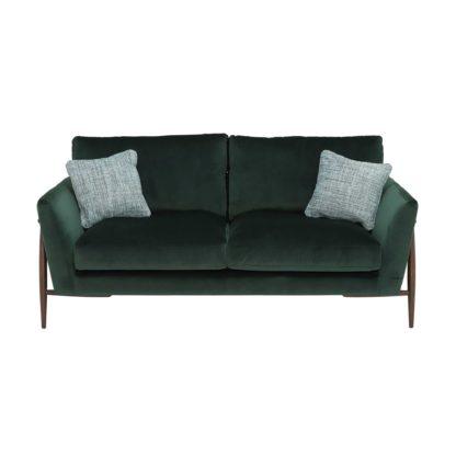 An Image of Ercol Forli Medium Sofa, Velvet