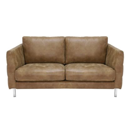 An Image of Lars 2.5 Seater Leather Sofa