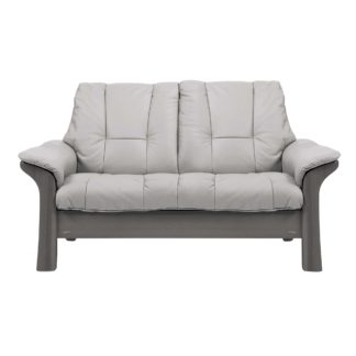 An Image of Stressless Windsor Low Back 2 Seater, Choice of Leather