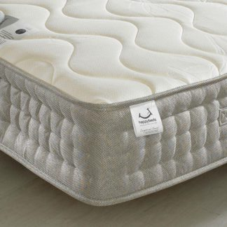An Image of Bamboo 1500 Pocket Sprung Memory and Reflex Foam Mattress - 2ft6 Small Single (75 x 190 cm)