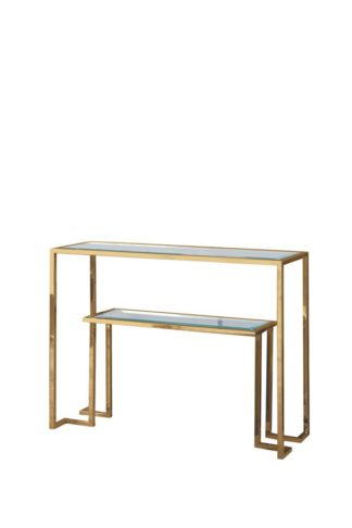 An Image of Anta Gold Console Table