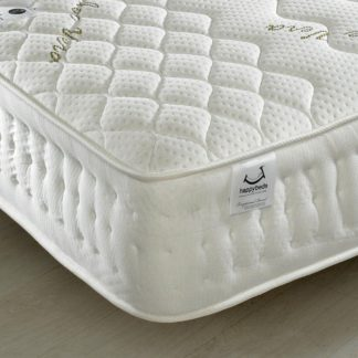 An Image of Aloe Vera 1500 Pocket Sprung Memory and Reflex Foam Mattress - 4ft Small Double (120 x 190 cm)
