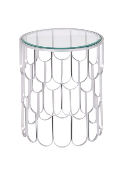 An Image of Pino Silver Side Table