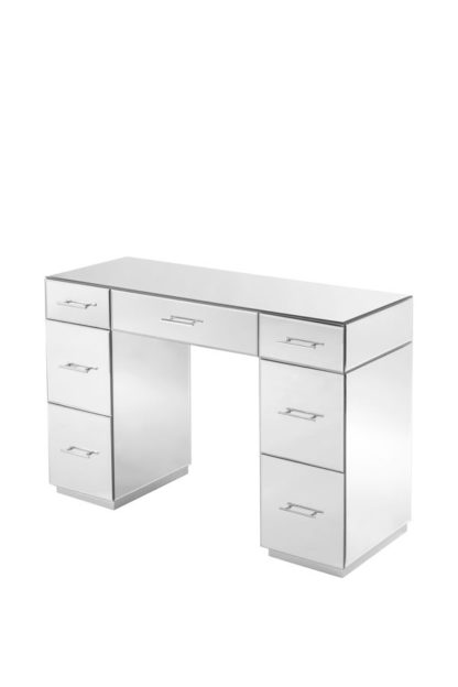 An Image of Harper Dressing Table – Silver Details