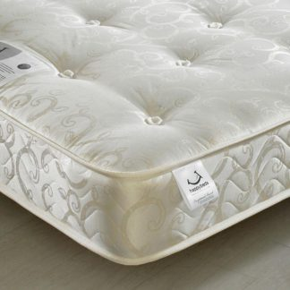 An Image of Gold Tufted Orthopaedic Spring Mattress - 6ft Super King Size (180 x 200 cm)
