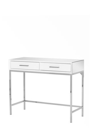 An Image of Trio White Console Table