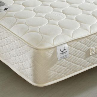 An Image of 6ft Super King Size Quilted Mattress Bamboo Natural Fillings - Mirage Spring