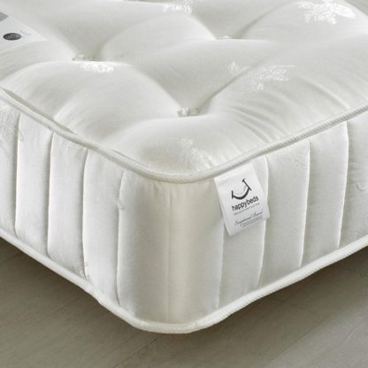 An Image of Signature Crystal 3000 Pocket Sprung Orthopaedic Natural Fillings Mattress - 5ft King Size (150 x 200 cm)