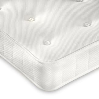 An Image of Clay Orthopaedic Spring Mattress - 4ft Small Double (120 x 190 cm)
