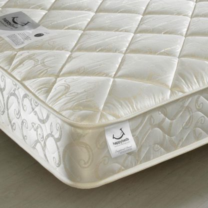 An Image of Premier Spring Quilted Fabric Mattress - 4ft Small Double (120 x 190 cm)