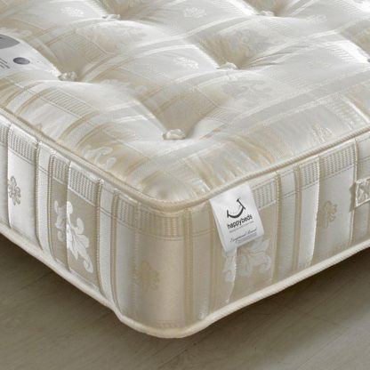 An Image of Majestic 1000 Pocket Sprung Orthopaedic Mattress - 4ft Small Double (120 x 190 cm)