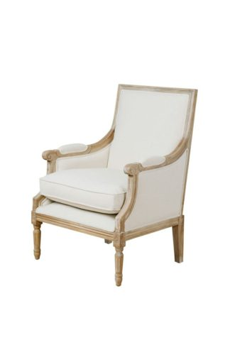 An Image of De Troy Limed French Armchair