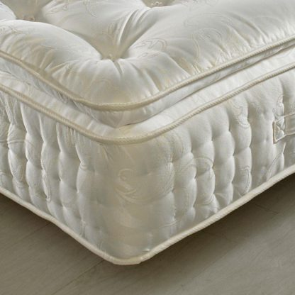 An Image of Signature 2000 Pocket Sprung Pillow Top Natural Fillings Mattress - 6ft Super King Size (180 x 200 cm)